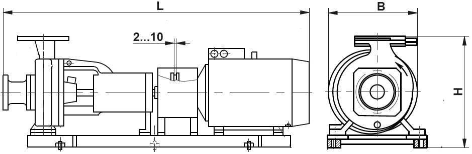 Насос СМ80-50-200