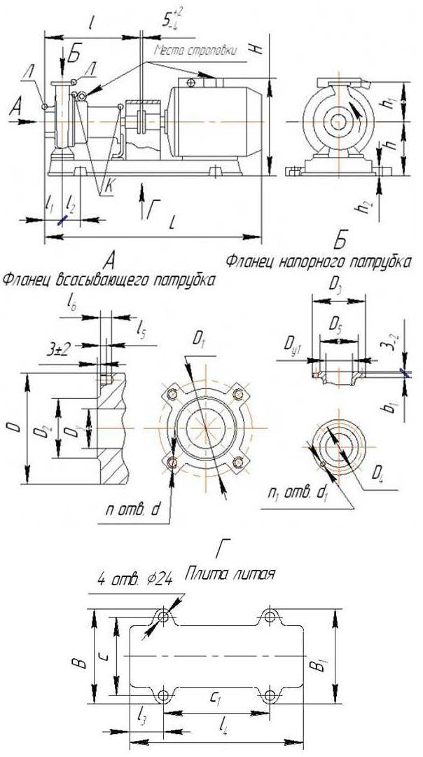 Насос К50-32-125
