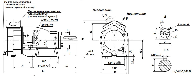 Насос ВК-4/24А